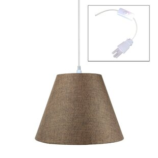 Charlton Home Hallstead 1-Light Cone Pendant