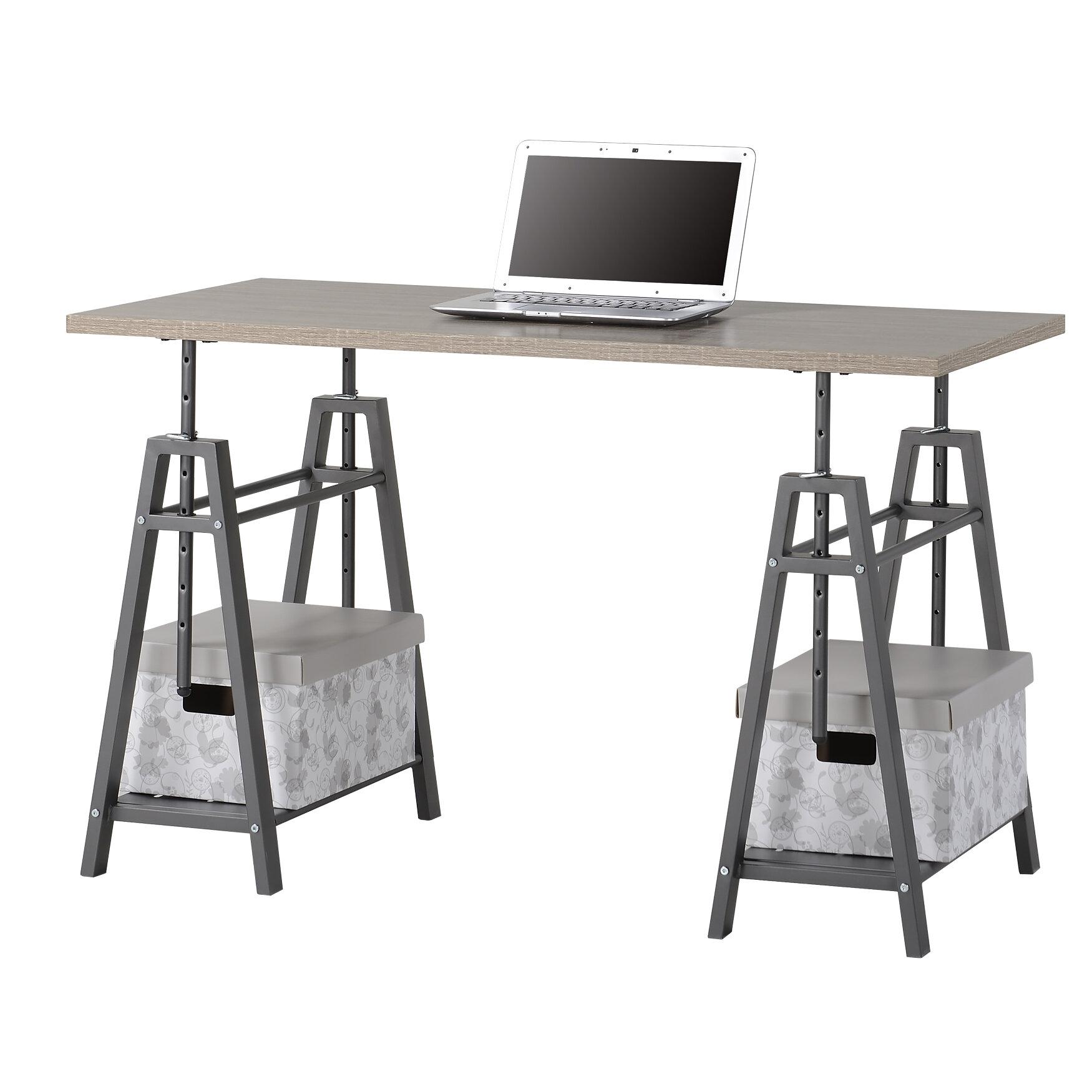 Woodley Height Adjustable Standing Desk Reviews Joss Main