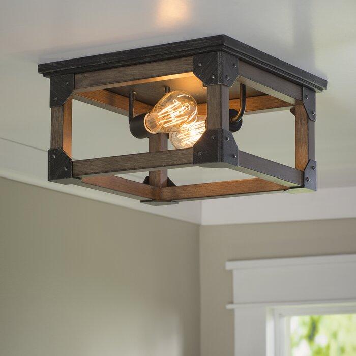 Cheyanne 2 light ceiling flush mount