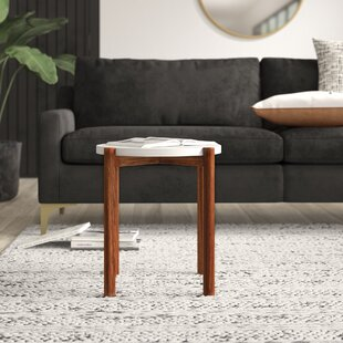 Sorrentino End Table by Mercury Row Top Reviews