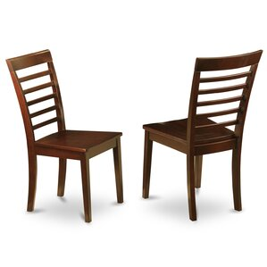 Milan Solid Wood Dining Chair (Set of 2) by East West Furniture