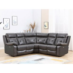 Iron Acton Reclining Sectional Red Barrel Studio