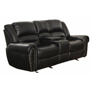 Medici Reclining Sofa by Astoria Grand 2019 Sale