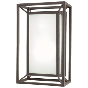 Best Price Buske 1-Light Outdoor Flush Mount By Brayden Studio