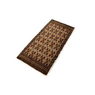 Cattalina Hand Hooked Wool Brown Indoor/Outdoor Rug By Bloomsbury Market