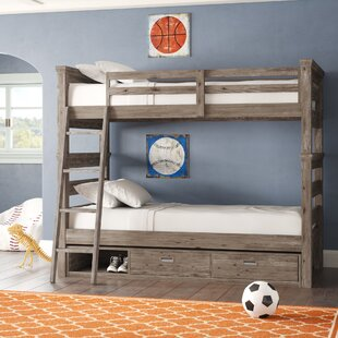 Elise Twin Over Twin Bunk Bed with Storage