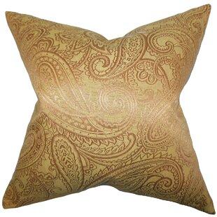 Cashel Paisley Throw Pillow