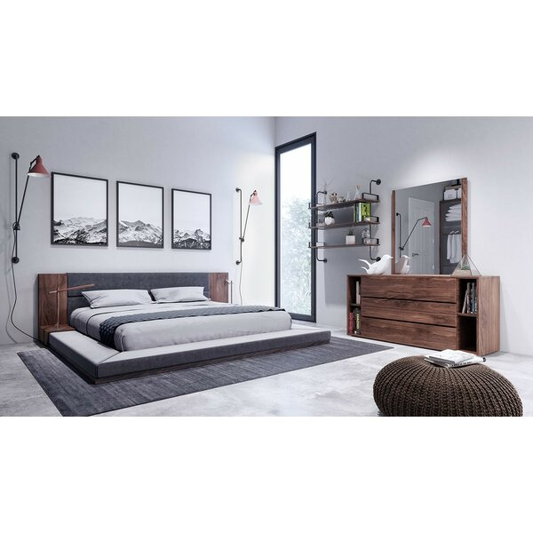 Brayden Studio Defalco Platform 3 Piece Bedroom Set & Reviews | Wayfair