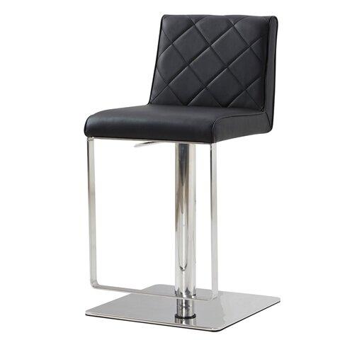 Orren Ellis Mcshane Adjustable Height Bar Stool Wayfair