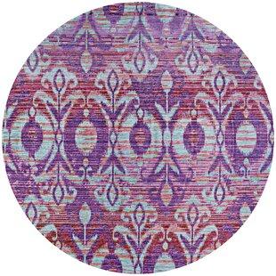 Beyer Purple Indoor/Outdoor Area Rug