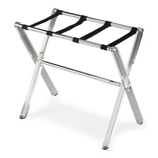 Lovely Widcombe Crystal Clear Acrylic Luggage Rack