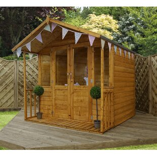 8 X 7 Ft. Summer House By Mercia Garden Products