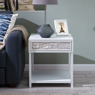Erickson End Table with Storage by Rosecliff Heights