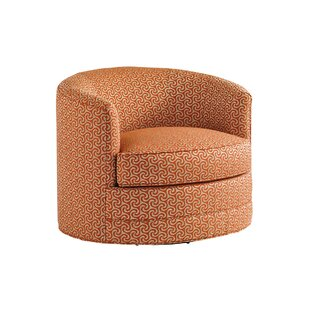Island Fusion Swivel Barrel Chair by Tommy Bahama Home