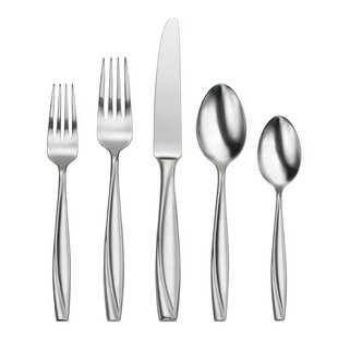 Camlynn Mirror 45 Piece Flatware Set, Service for 8