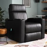 Massage Recliner Home Theater Individual Seating by Latitude Run®