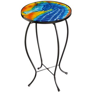 Seahorse Side Table by Evergreen Flag & Garden