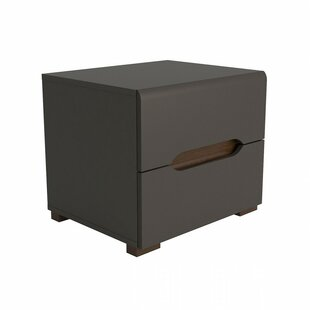Affordable Blackmon 2 Drawer Nightstand by Trule Teen