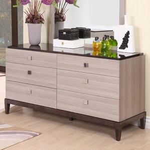 Tucanae 6 Drawer Double Dresser