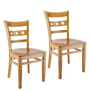 Ewell Solid Wood Dining Chair (Set Of 2) by Red Barrel Studio Reviews