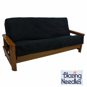 Queen Box Cushion Futon Slipcover by Blazing Needles
