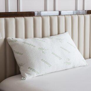 Yuka Deluxe Rayon from Bamboo Memory Foam Pillow