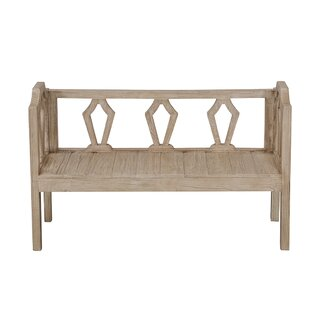 Wood Bench By Beachcrest Home
