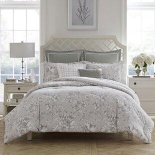 Bridgette Cotton Reversible Comforter Set by Laura Ashley Home