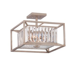 Greyleigh Syracuse 3-Light Semi Flush Mount