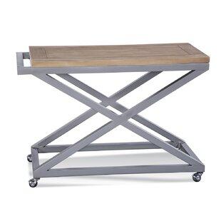 Alghero Teak Bar Cart by Braxton Culler