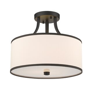 Merlino 3-Light Semi Flush Mount by House of Hampton
