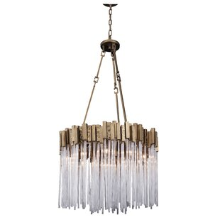 Varaluz Matrix 9-Light Drum Chandelier