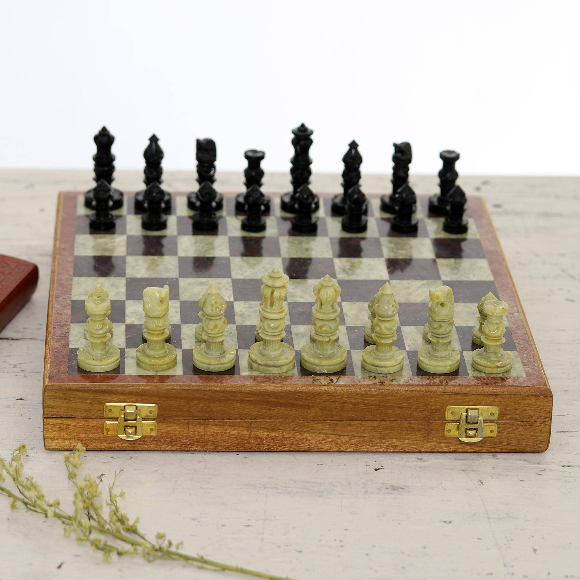 Novica Royal Charm Chess Set Wayfair