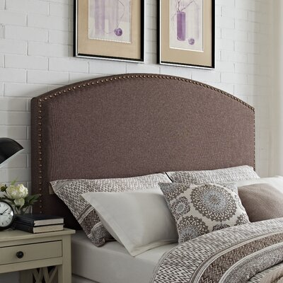 Beneduce Curved Upholstered Panel Headboard by Alcott Hill