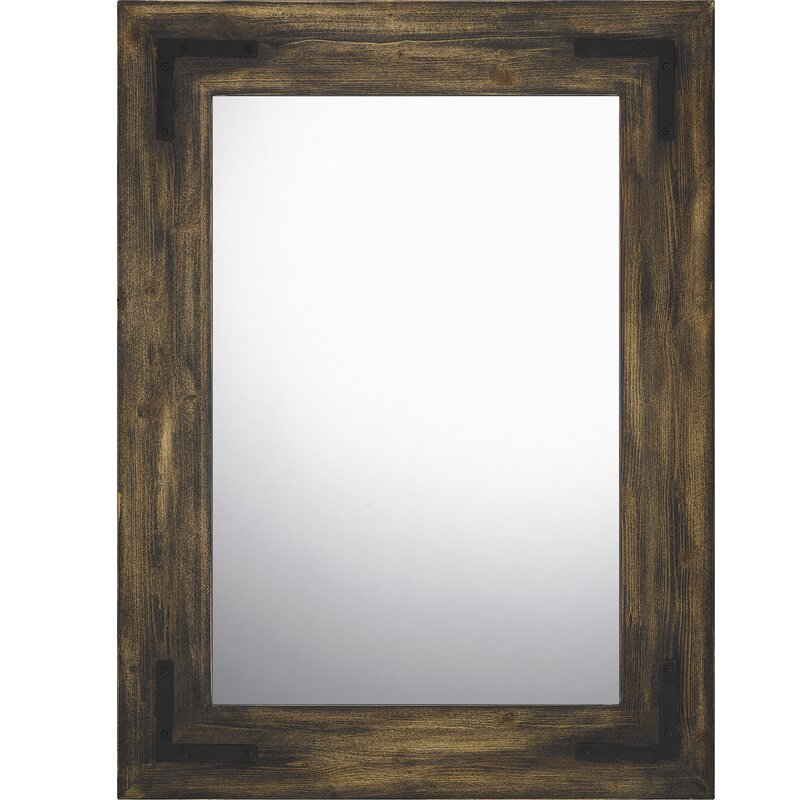 Loon Peak Lynmouth Modern And Contemporary Wall Mounted Mirror Wayfair