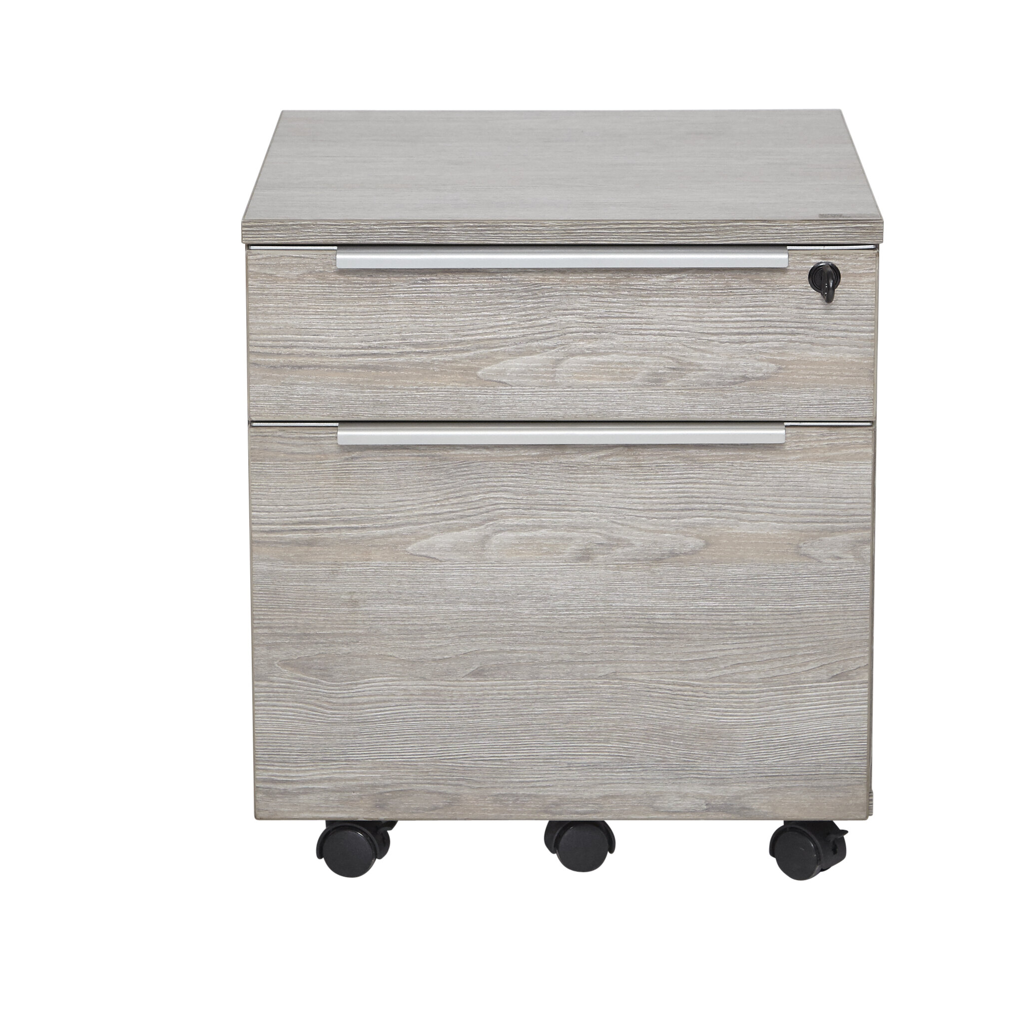 Ose 2 Drawer Mobile Lateral Filing Cabinet