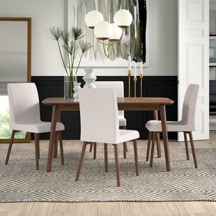 Liles 5 Piece Dining Set Mercury Row