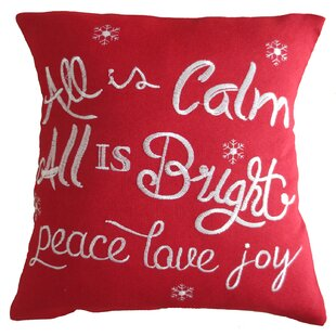 christmas greeting decorative embroidered burlap pillow cover - Christmas Decorative Pillow Covers