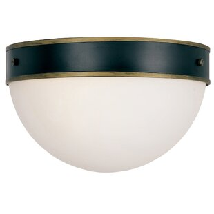 Latitude Run Needham 2-Light Outdoor Flush Mount