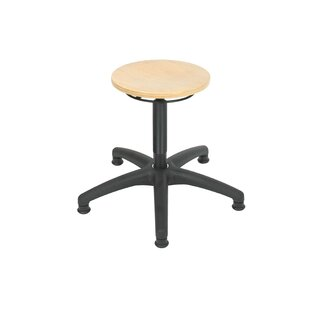 Height-adjustable Office Stool By Symple Stuff