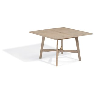 Laney Shorea 29.75 Solid Wood Dining Table