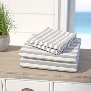 Beachcrest Home Ariel 600 Thread Count Cotton Blend Sheet Set