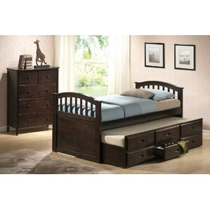 san marino captain bed with trundle and storage - Captain Bed