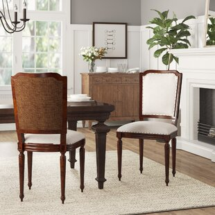Darby Home Co Back Upholstered Side Chairs (Set of 2)