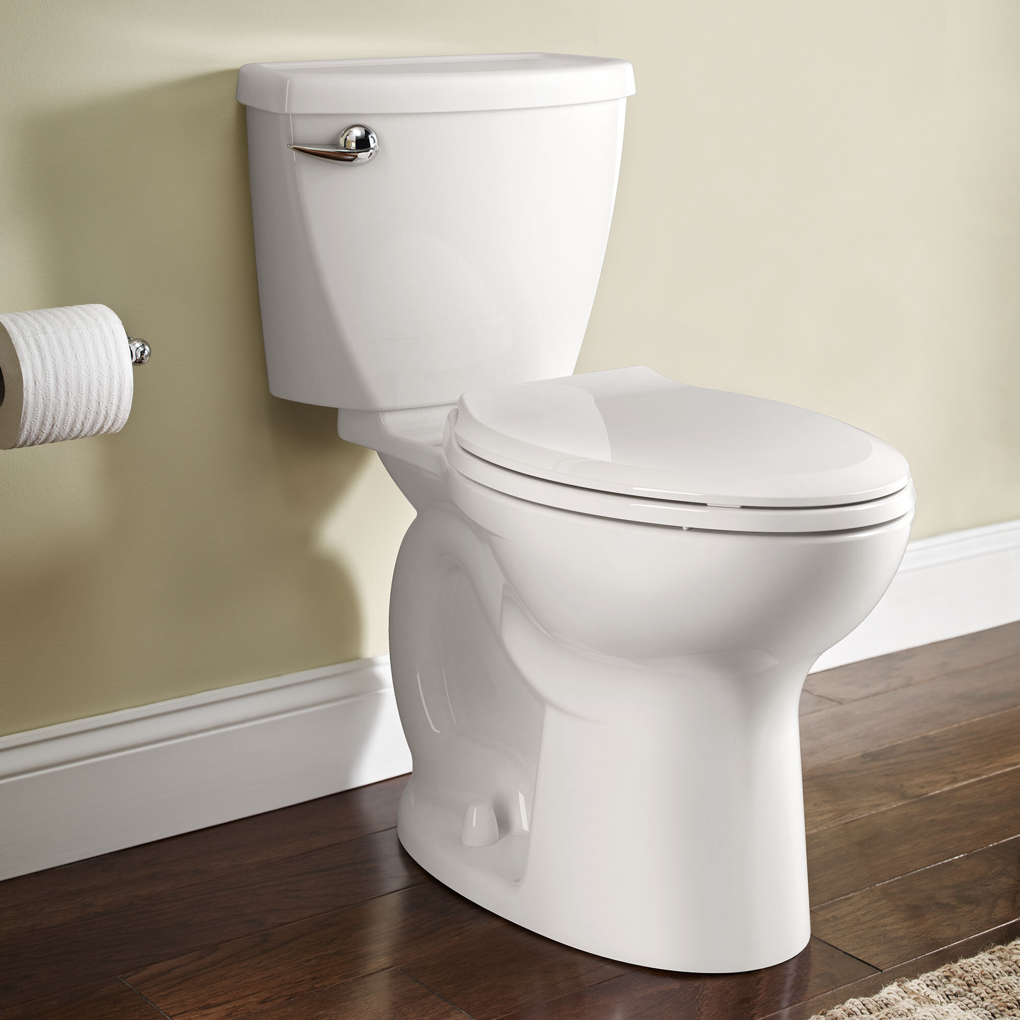 American Standard Cadet 3 1 28 Gpf Water Efficient Elongated Two Piece Toilet Seat Not Included Wayfair