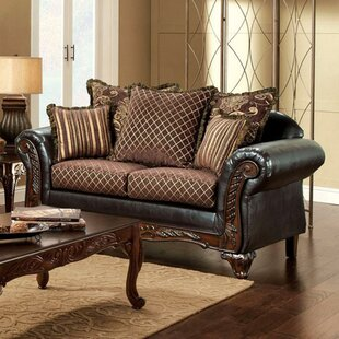 Douthett 35 Rolled Arm Loveseat by Astoria Grand