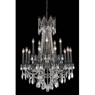 Astoria Grand Utica 15-Light Candle Style Chandelier