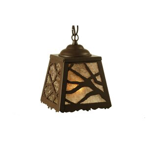 Branches 1-Light Lantern Pendant by Meyda Tiffany