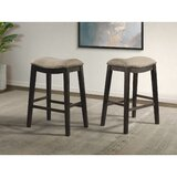 Oxford Backless 30 Bar Stool in Taupe by Millwood Pines