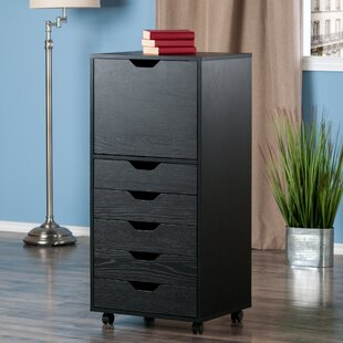 Ebern Designs Crandon 5 Drawer Vertical F..